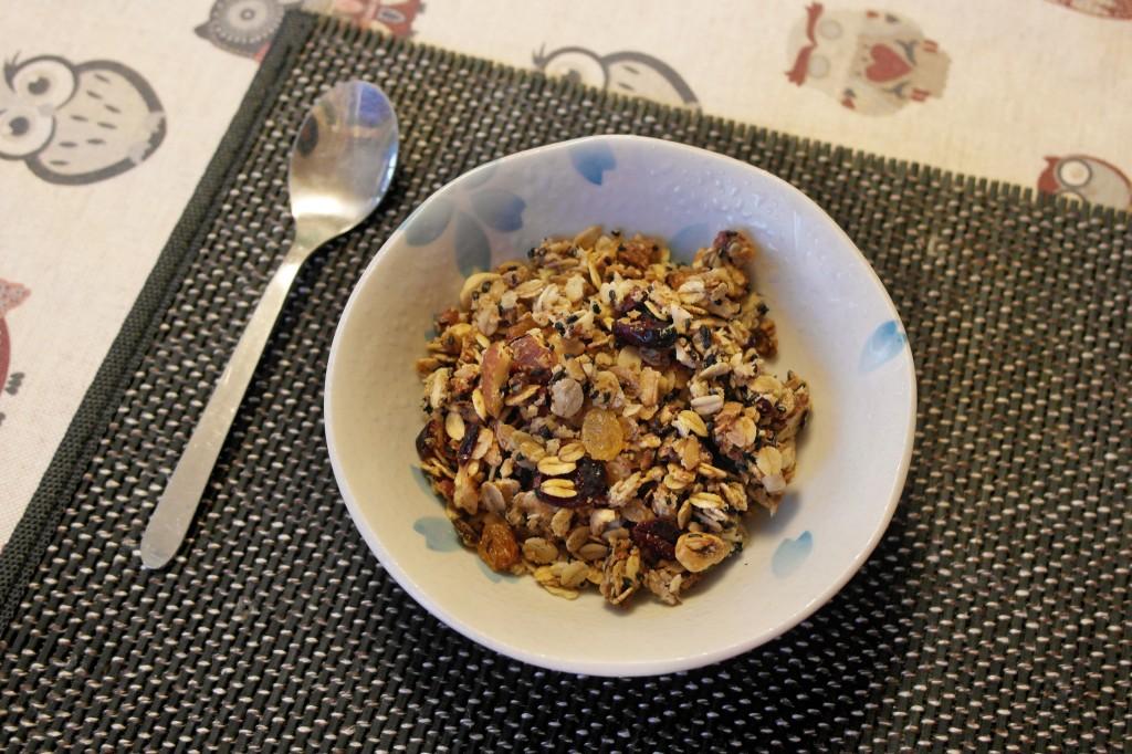 Qigong gentile asd muesli fatto in casa for Colazione cinese